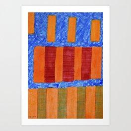 Air Mattresses Art Print
