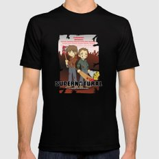 Supernatural - Goin to the Winchesters Mens Fitted Tee MEDIUM Black