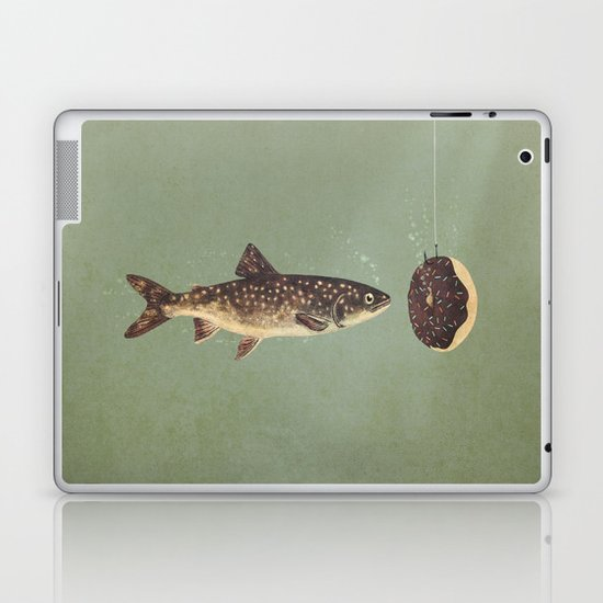 Irresistible Bait  Laptop & iPad Skin