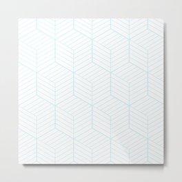 ZADA ((baby blue)) Metal Print