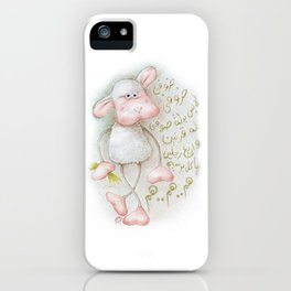 My Sheep iPhone Case