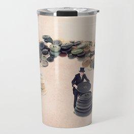 The button sorter Travel Mug