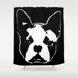 BOSTON TERRIER DOG Shower Curtain