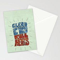 Clear Eyes, Full Hearts... Stationery Cards