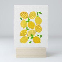 Lemon Crowd Mini Art Print