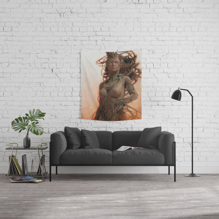Gynoid IV Wall Tapestry