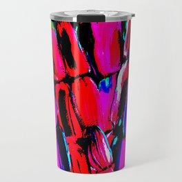 Dark Red Sugarcane Travel Mug