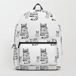 Mummy Cat & Mummy Mouse – Silent Horror Backpack