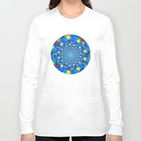 kaleidoscope Long Sleeve T-shirts featuring Kaleidoscope  by haroulita