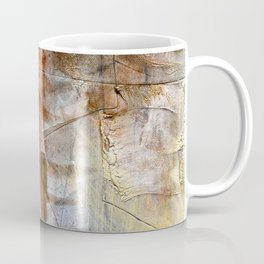 Earthbound // acrylic modern abstract painting Coffee Mug