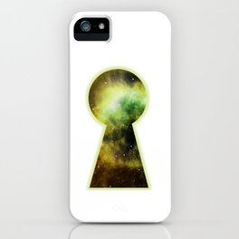 Keyhole to the Galaxy iPhone Case