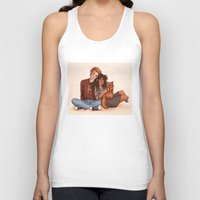 hermione Tank Tops featuring Ron and Hermione by Susanne