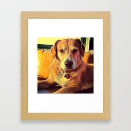 When U R done! Framed Art Print