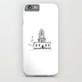 Halifax Town Clock iPhone Case