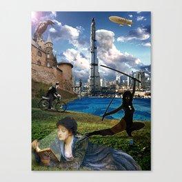 The Diamond Age - Neal Stephenson Canvas Print