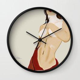 "Ines Trocchia ""Shower"" Wall Clock"