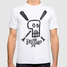 Brute Squad SMALL Mens Fitted Tee Ash Grey