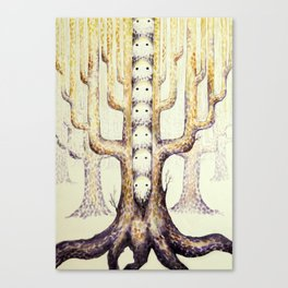 In the trees they live Canvas Print