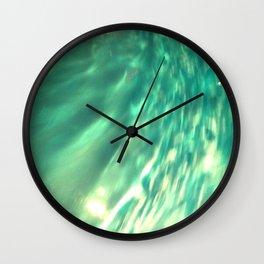 Rippled Wall Clock