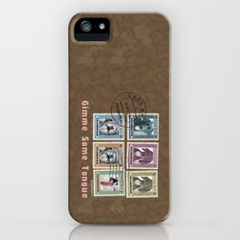 Gimme Some Tongue iPhone Case