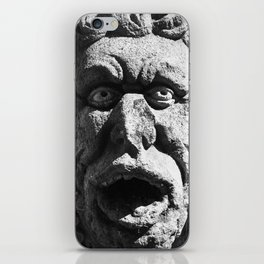 Stone Faced iPhone Skin