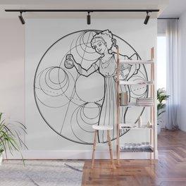 Hypatia Wall Mural