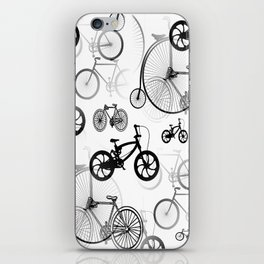 On Yer Bike! iPhone Skin