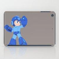 megaman iPad Cases featuring Megaman by Megan Yiu