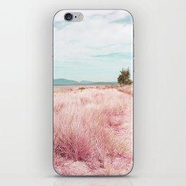 Coastal trail - blush iPhone Skin
