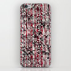 Linear Thinking Trip-Switch (P/D3 Glitch Collage Studies) iPhone & iPod Skin
