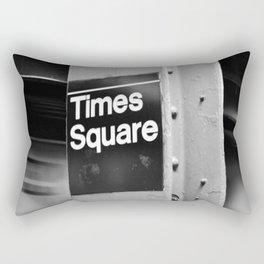 Times Square Metro Rectangular Pillow