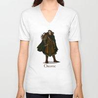 valar morghulis V-neck T-shirts featuring Orome by wolfanita