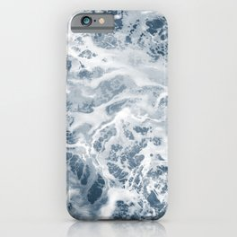Pacific Ocean Waves Pattern Aerial Photography iPhone Case