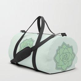 Succulent Illustration Duffle Bag