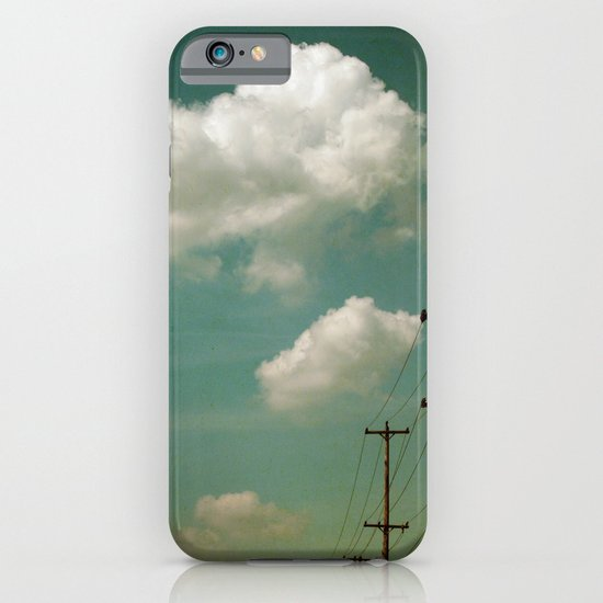 Electric Blue iPhone & iPod Case