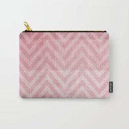 pink chevron II Carry-All Pouch