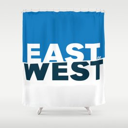 East of West Shower Curtain