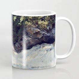 a rainbow at the falls Coffee Mug