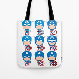 CAPTAIN EVOLUTION Tote Bag