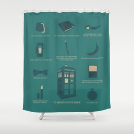 Doctor Who | Items Shower Curtain