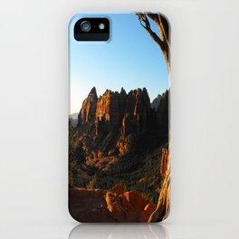 Top Of Merry-Go-Round iPhone Case