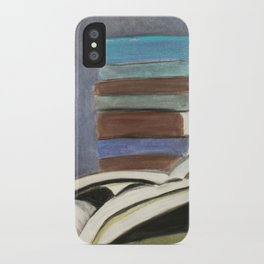 Books - Pastel Illustration iPhone Case