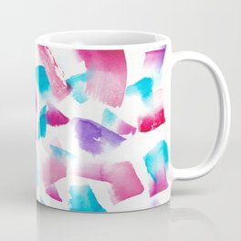 180719 Koh-I-Noor Watercolour Abstract 33| Watercolor Brush Strokes Coffee Mug