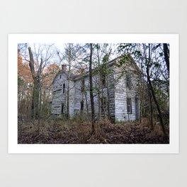 Abandoned House - Crittenden, VA Art Print