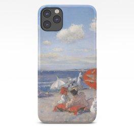 At the Seaside, William Merritt Chase 1892 iPhone Case