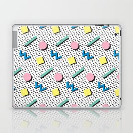 Memphis pattern no.3 Laptop & iPad Skin