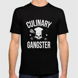 Culinary Gangster Cooking Gift T-shirt