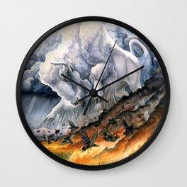 White Buffalo Wall Clock