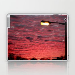 British Winter Sunset Laptop & iPad Skin