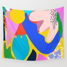 Unbridled Enthusiasm - Shapes and Layers no.38 Wall Tapestry